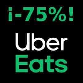 Cupon descuento Uber Eats, comida barata, descuentos en comida a domicilio
