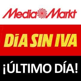 Día Sin IVA MediaMarkt Último Día
