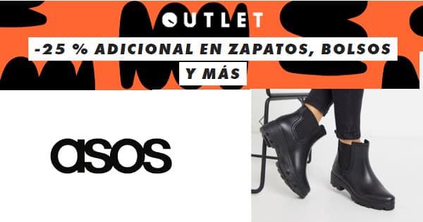 Descuento de hasta un 80% en calzado y accesorios de Asos, calzado barato, ofertas bolsos y calzado, chollo