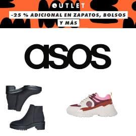 Descuento de hasta un 80% en calzado y accesorios de Asos, calzado barato, ofertas bolsos y calzado