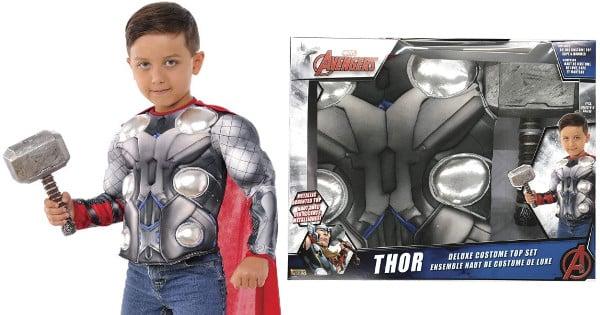 Disfraz Thor para niños barato, disfraces baratos, chollo