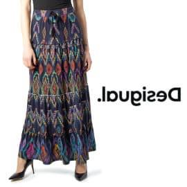 Falda Desigual Fal_Norah barata, faldas baratas, ofertas ropa