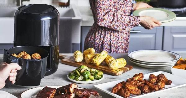 Freidora sin aceite Moulinex Easy Fry Compact Precision barata, freidoras baratas, ofertas para la casa chollo