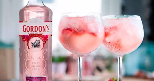 Ginebra Gordon's Pink barata. Ofertas en ginebra, ginebra barata, chollo