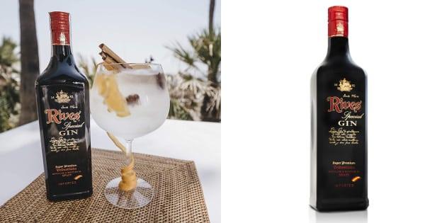 Ginebra Rives Especial Negra barata, ginebras baratas, ofertas bebidas alcohólicas, chollo