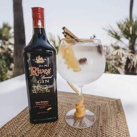 Ginebra Rives Especial Negra barata, ginebras baratas, ofertas bebidas alcohólicas