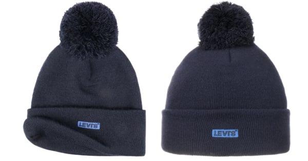 Gorro Levi's Tab barato, gorros de lana baratos, ofertas en ropa de marca chollo