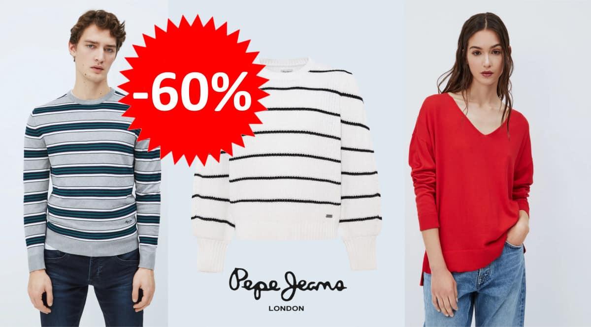 Jerséis Pepe Jeans para hombre y mujer baratos. Ofertas en ropa de marca, ropa de marca barata, chollo