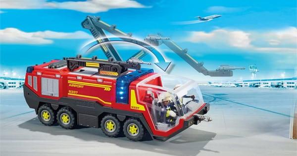 Juguete Camión de bomberos del aeropuerto Playmobil City Action barato. Ofertas en juguetes, juguetes baratos, chollo