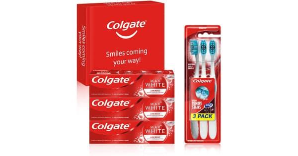 Kit blanqueador Max White Luminous barato, pasta de dientes barata, ofertas supermercado, chollo