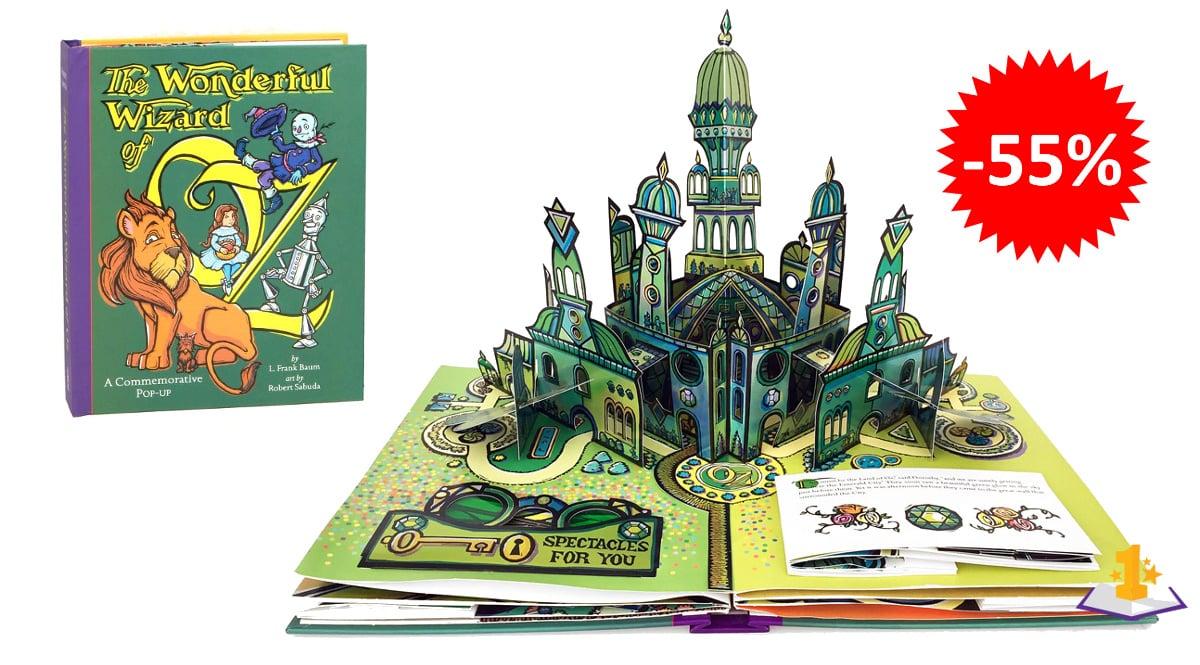 Libro pop-up de El Maravilloso Mago de Oz barato, libros baratos, ofertas en libros chollo