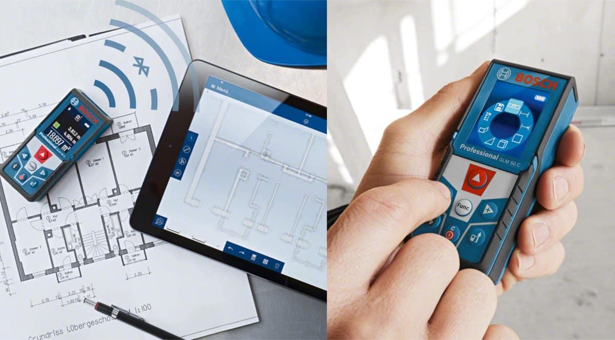 Medidor láser Bosch GLM 50 C barato. Ofertas en herramientas, herramientas baratas, chollo