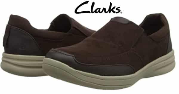 Mocasines Clarks Stepstrolledge, calzado barato, ofertas en zapatos sin cordones, chollo