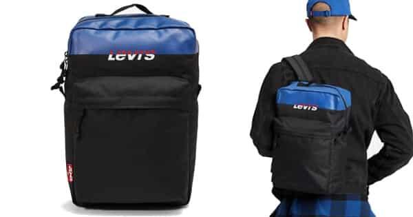 Mochila para el portátil Levi's Colorblock barata, mochilas baratas, ofertas en mochilas para portátiles chollo