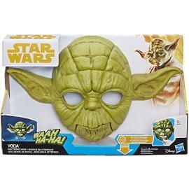 Máscara electrónica Star Wars Yoda barata, juguetes baratos