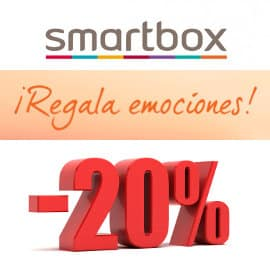 Ofertas Flash Smartbox, regalos baratos, ofertas en experiencias