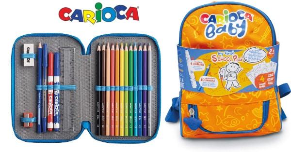 Ofertas en material escolar Carioca, material escolar barato, ofertas para niños, chollo