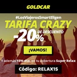 Ofertas para alquilar coche con Goldcar, coches de alquiler baratos, ofertas viajes.jpg