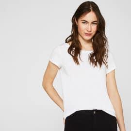 Pack de 2 camisetas básicas Esprit baratas, camisetas baratas, ofertas en ropa de marca