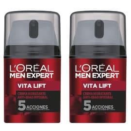 Pack de 2 cremas hidratantes L'Oréal Paris Men Expert Integral Vita Lift baratas, cremas baratas, ofertas para ti