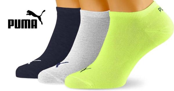 Pack de 3 pares de calcetines Puma. Ofertas en ropa de marca, ropa de marca barata, chollo