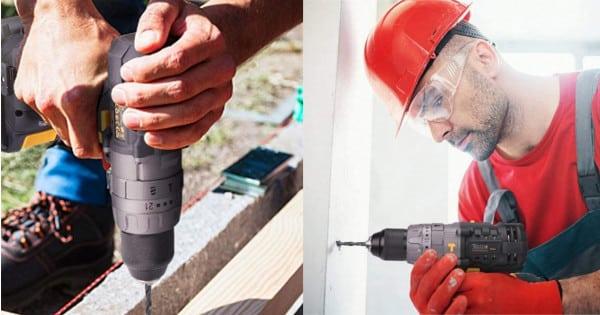 Pack taladro y atornillador TECCPO barato. Ofertas en herramientas, herramientas baratas, chollo