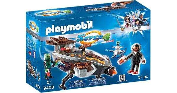 Playmobil Super 4 Gene y Sykronian con Nave barato, Playmobil baratos, chollo
