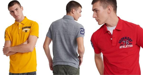 Polo Superdry Superstate barato, ropa de marca barata, ofertas en polos chollo