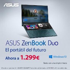 Portátiles Asus Zenbook DUO y Pro DUO baratos, portátiles baratos