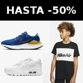 Prendas Nike para niños baratas, ropa de marca barata, ofertas en calzado