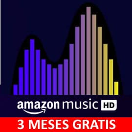 Promoción Amazon Music Unlimited HD. Ofertas en música, música barata