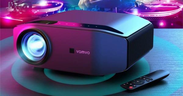 Proyector Vamvo Full HD nativo barato. Ofertas en proyectores, proyectores baratos, chollo