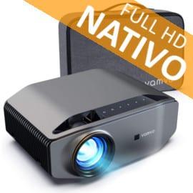 Proyector Vamvo Full HD nativo barato. Ofertas en proyectores, proyectores baratos