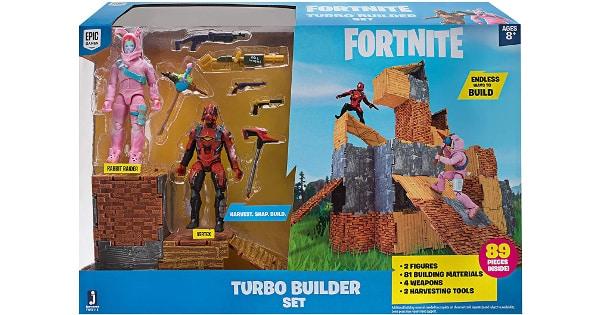 Set de juego con 2 figuras Fortnite barato, juguetes baratos, ofertas para niños chollo