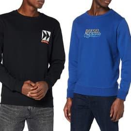 Sudadera Diesel Willy barata, ropa de marca barata, ofertas en sudaderas