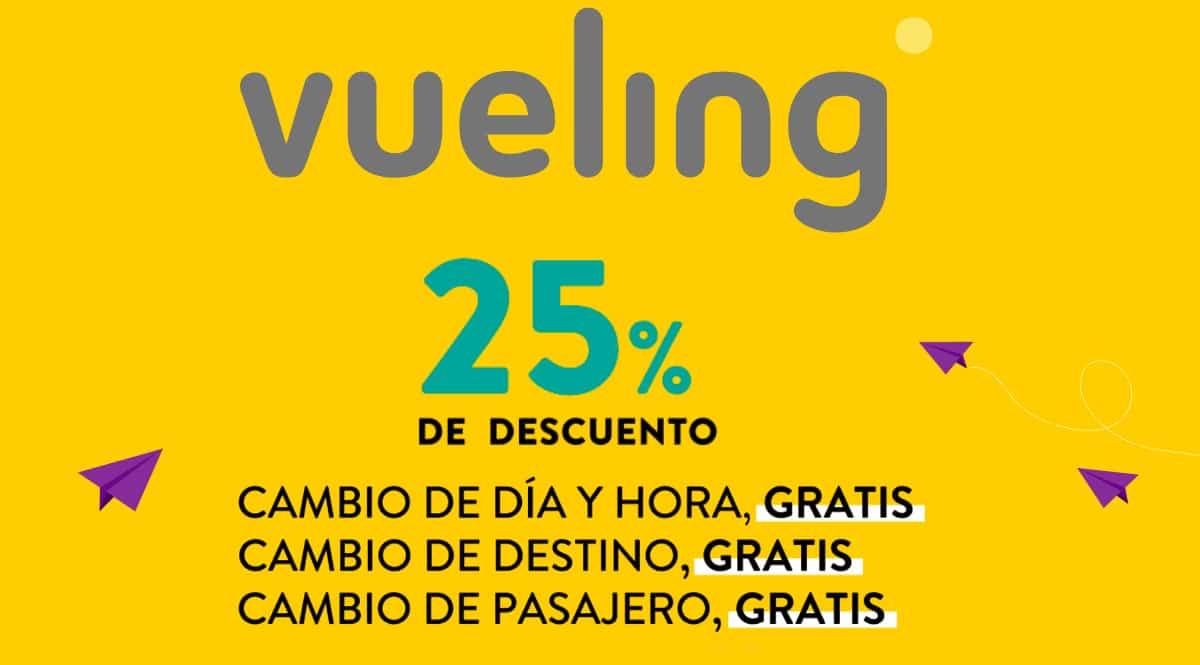 Vuelos baratos con Vueling, billetes de avión baratos, ofertas en viajes, chollo
