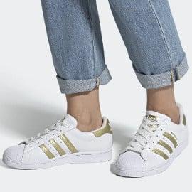 ¡¡Chollo!! Zapatillas para mujer Adidas Originals Superstar sólo 49.95 euros. 50% de descuento.
