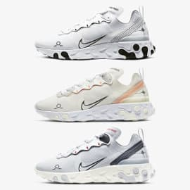 Zapatillas Nike React Element 55 baratas, calzado barato, ofertas en zapatillas