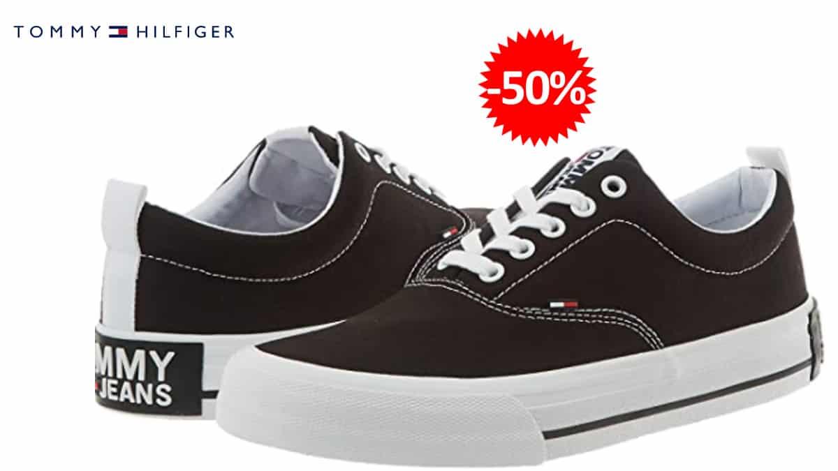 Zapatillas-Tommy-Hilfiger-Jeans-Low-baratas.-Ofertas-en-zapatillas-zapatillas-baratas, chollo
