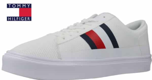 Zapatillas Tommy Hilfiger Lightweight Signature Colour-Blocked baratas, zapatillas baratas, ofertas en calzado, chollo