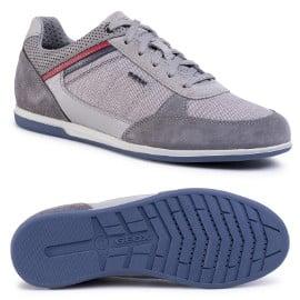 Zapatillas para hombre Geox Renan baratas, zapatillas de marca baratas