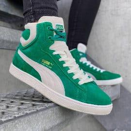 Zapatillas unisex PUMA First Round Suede baratas, zapatillas de marca baratas, ofertas en calzado