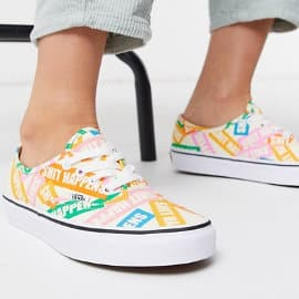 Zapatillas unisex Vans Authentic Shit Happens baratas, calzado barato, ofertas en zapatillas