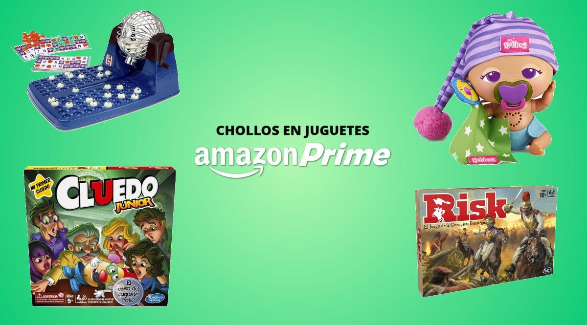 Amazon Prime Day juguetes y juegos baratos chollo