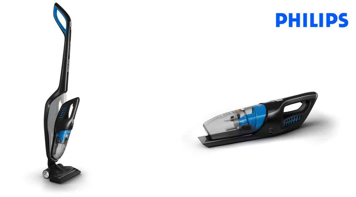 Aspirador vertical 2 en 1 Philips PowerPro Duo FC6167-01, aspiradores baratos, ofertas hogar, chollo