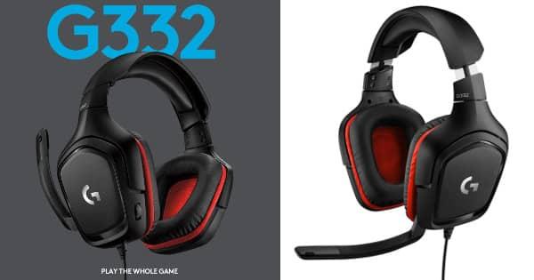 Auriculares gaming Logitech G332 barato, auriculares baratos, chollo