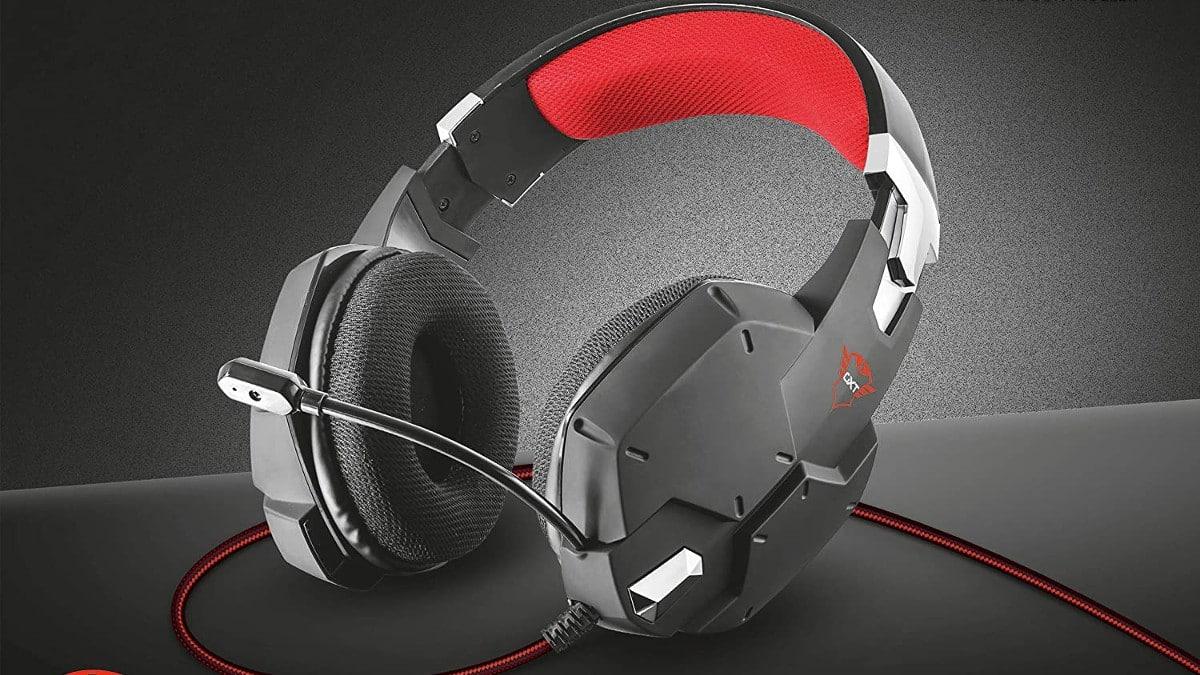 Auriculares gaming Trust GXT 322 baratos, auriculares baratos, chollo