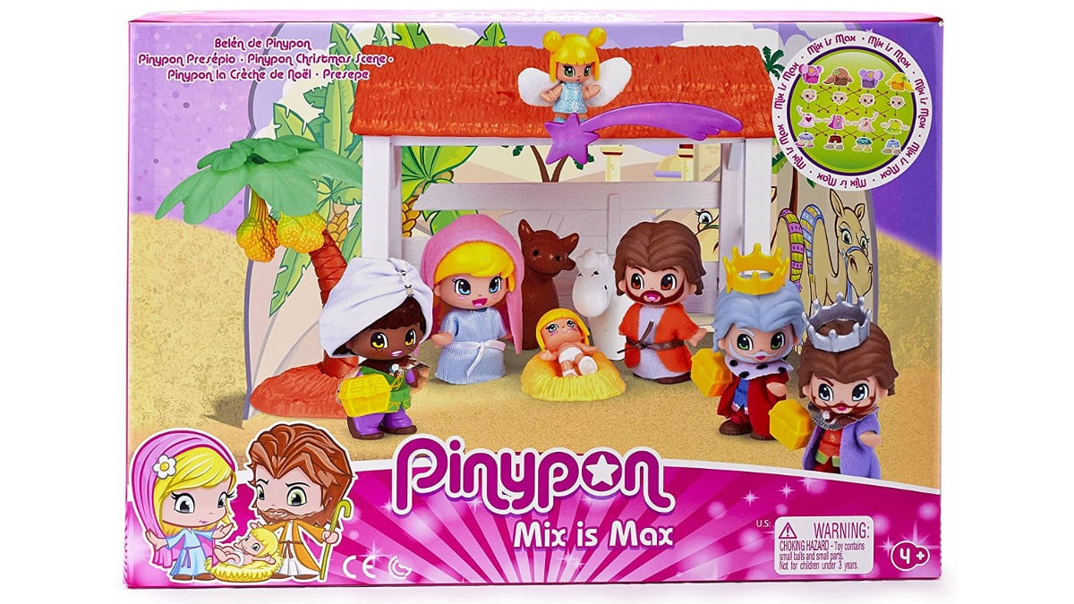 Belén de Pinypon barato, belenes baratos, chollo