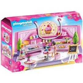 Cafetería Cupcake de Playmobil barata, juguetes baratos, ofertas para niños