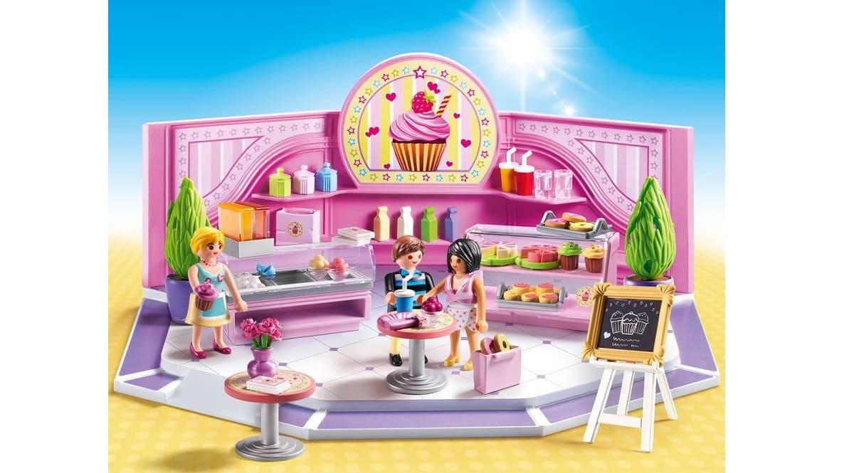 Cafetería Cupcake de Playmobil barata, juguetes baratos, ofertas para niños, chollo